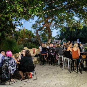 Casual outdoor venue