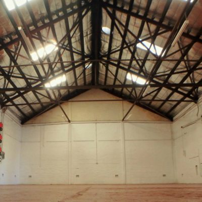 Warehouse venue