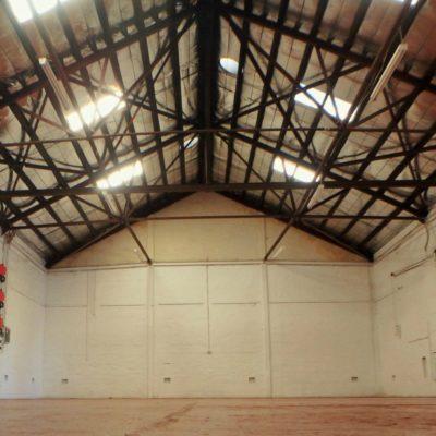 Inside The Barn At Perth City Farm.