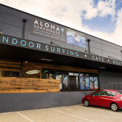 The Outside Building Of The Aloha Surfhouse