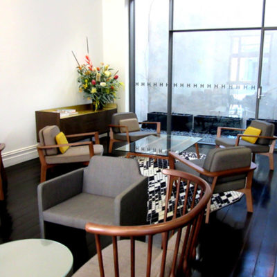 A Small Casual Meeting Room