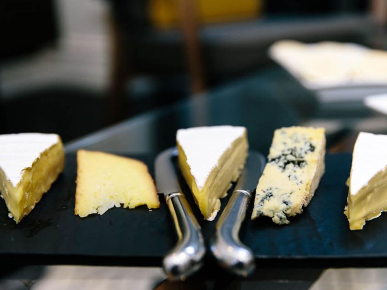 A Cheese Platter.