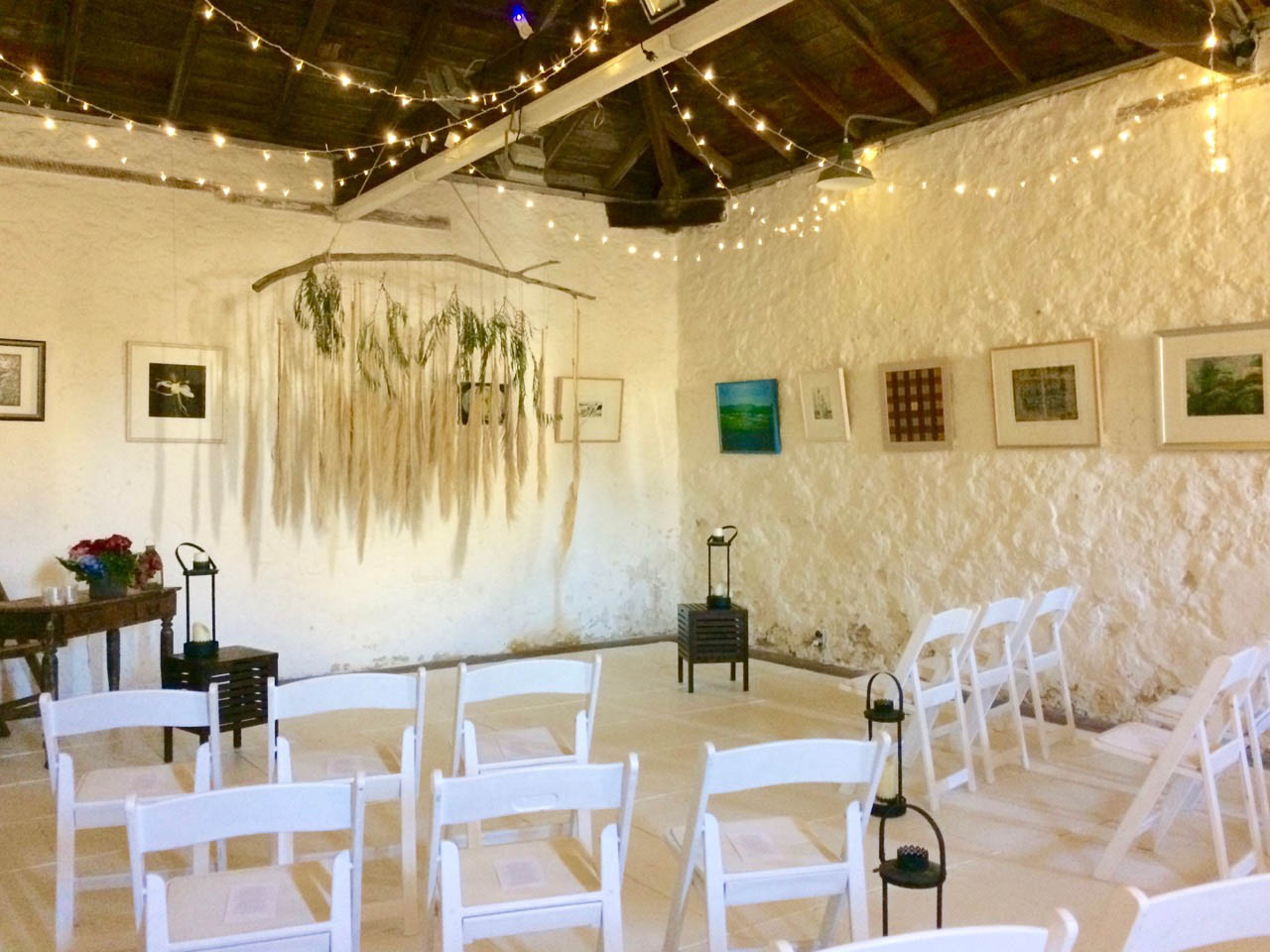 The Second Gallery Set Up For A Wedding
