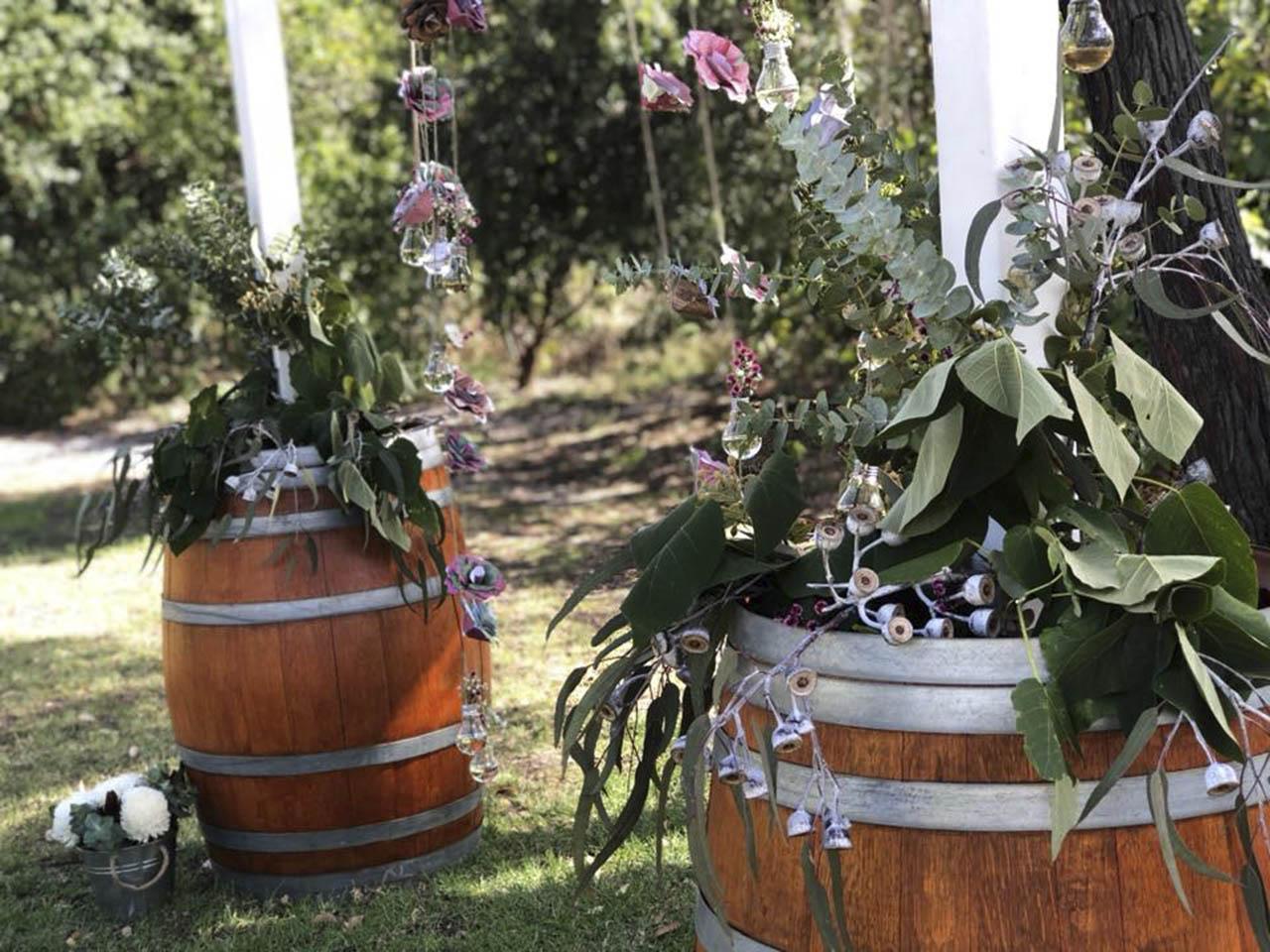 Flowers In Wine Casks