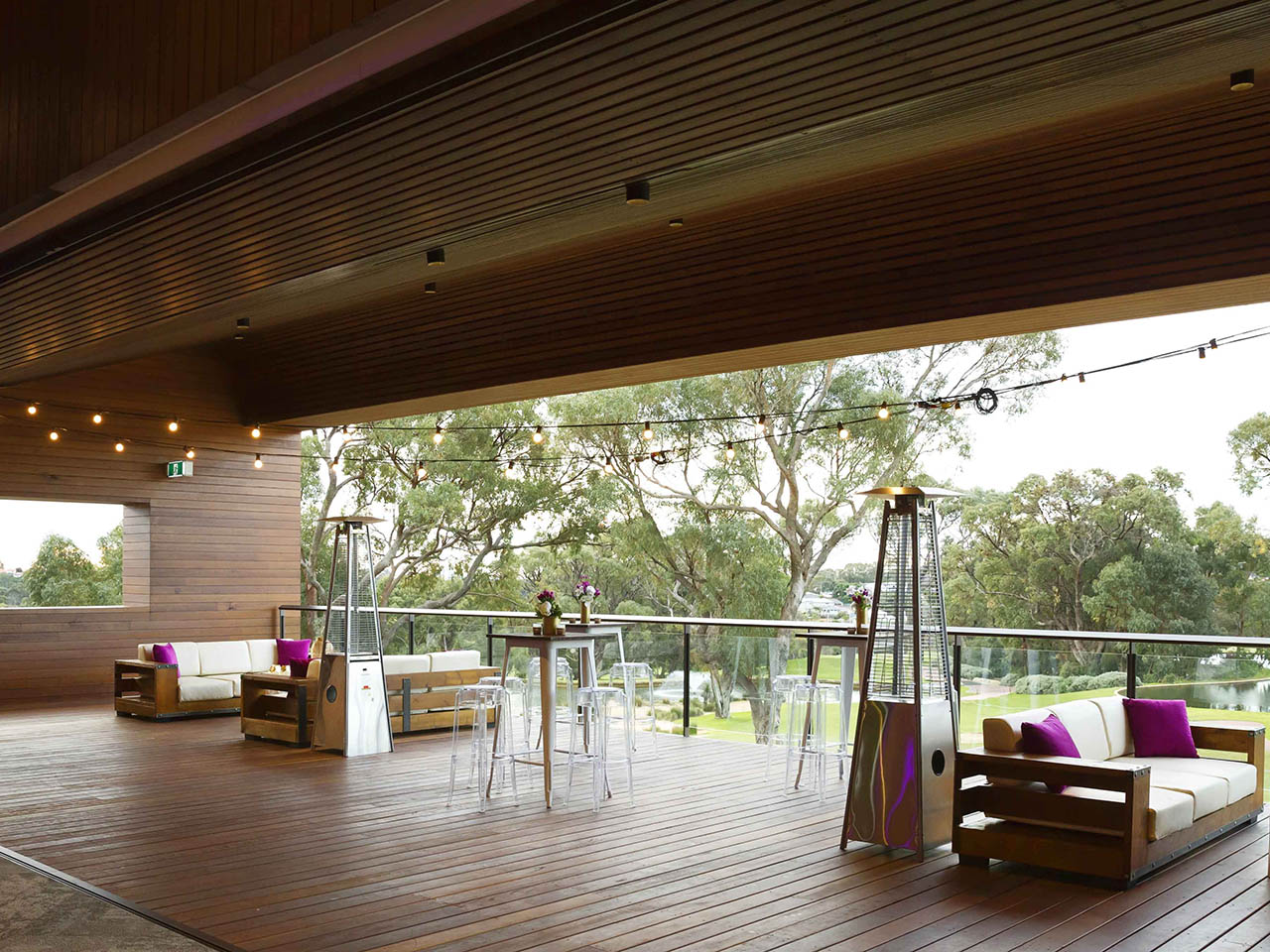 Perth venue with views