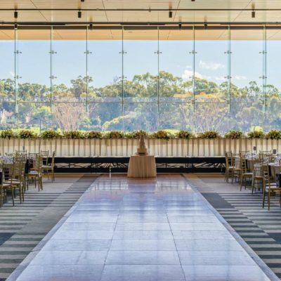 View from ballroom at Joondalup Resort