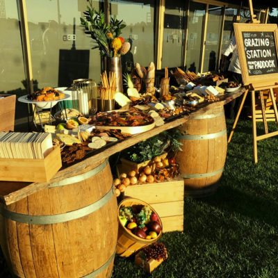 Buffet at Swan Valley venue