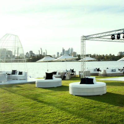 Swan river outdoor venue