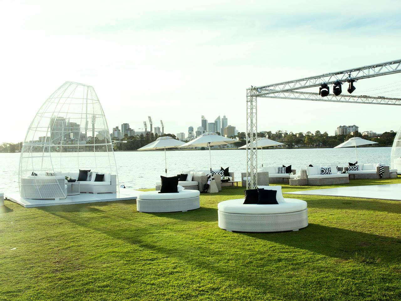 Swan river outdoor venue
