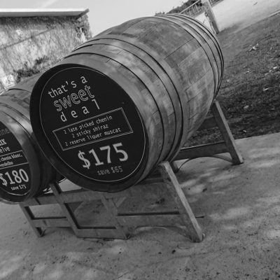 Lancaster Winery Wine Casks