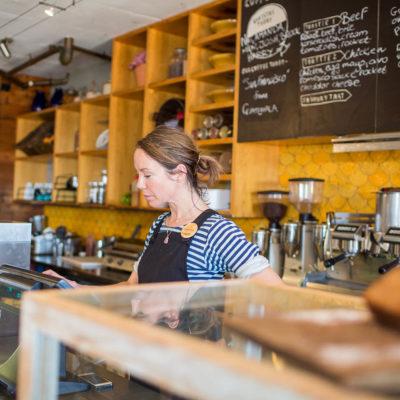 A Cashier Of Voyage Kitchen