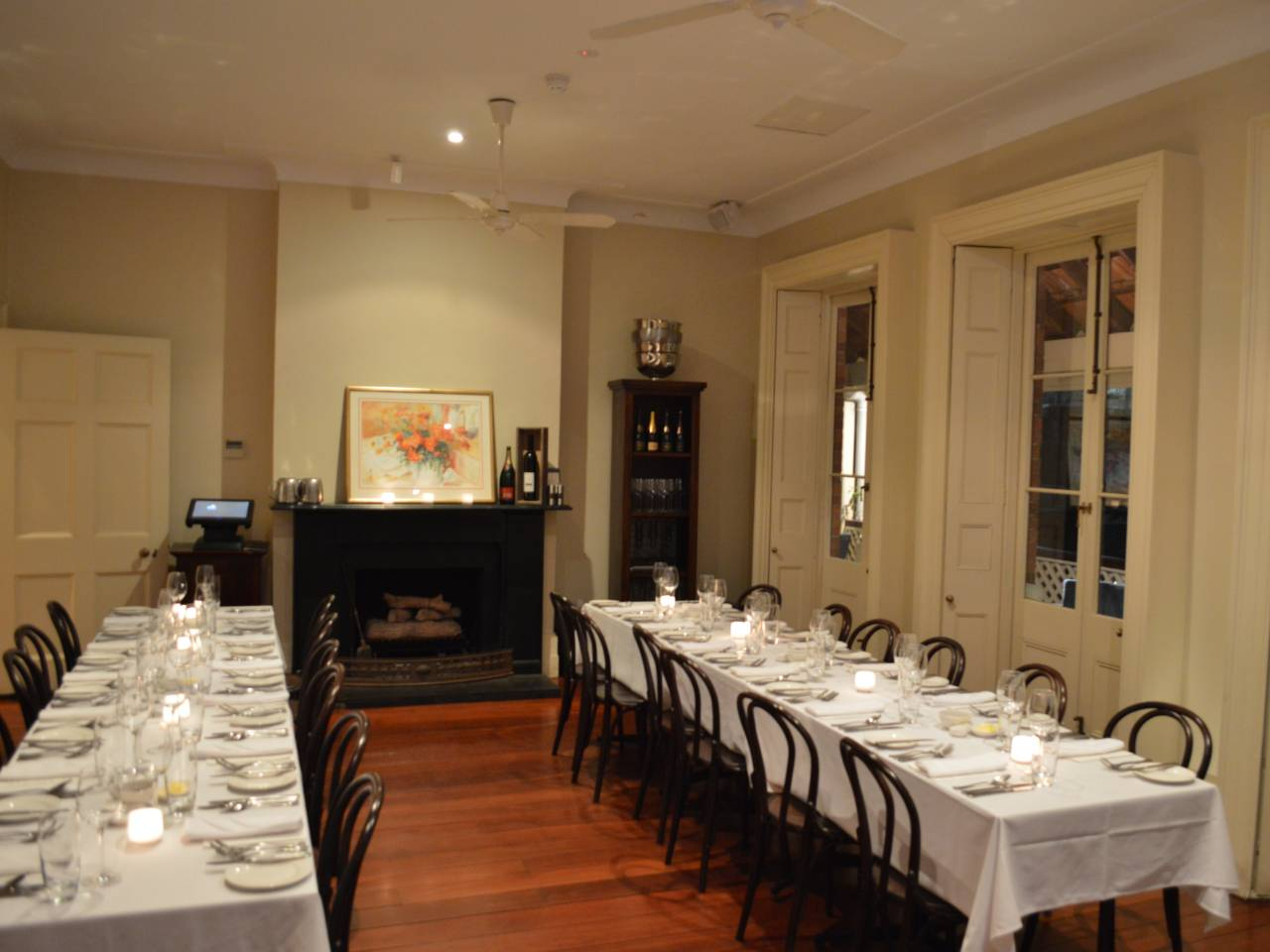 Private dining room Perth