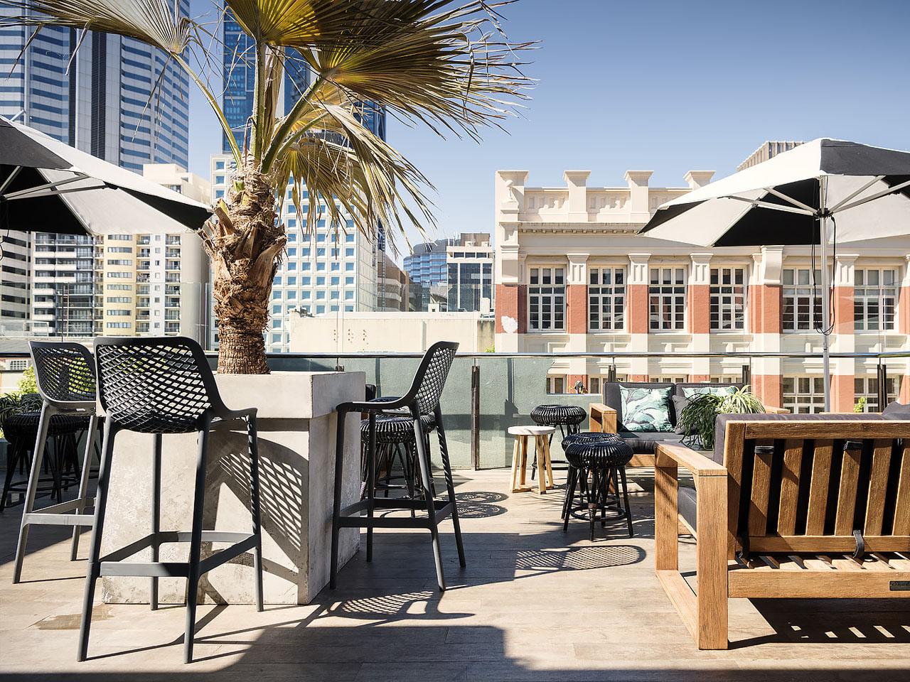 Rooftop venue in Perth