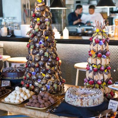 Variety of Chocolate Cake and Cake Pop Desserts