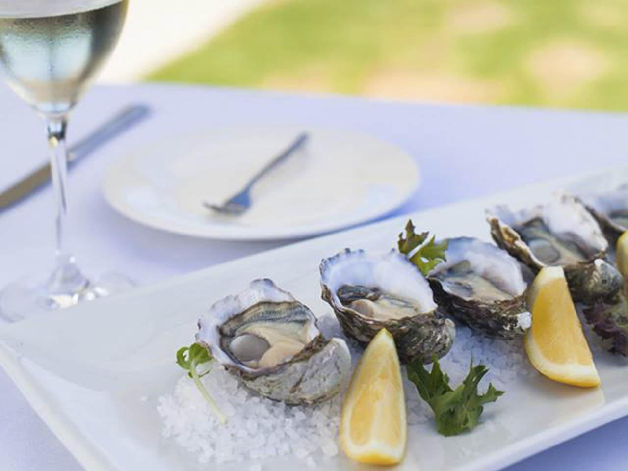 Seafood with Salt and Lemon