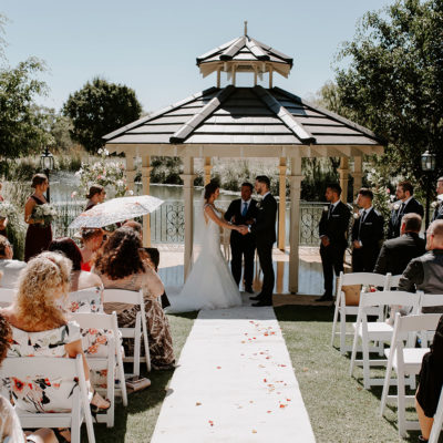 Wedding Ceremony In The Terrace
