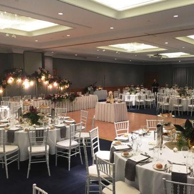 Wedding reception at Perth hotel