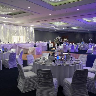 Large wedding function