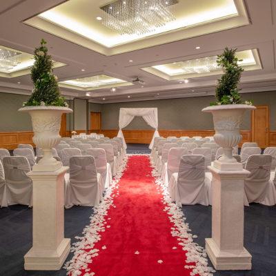 Hotel wedding ceremony Perth