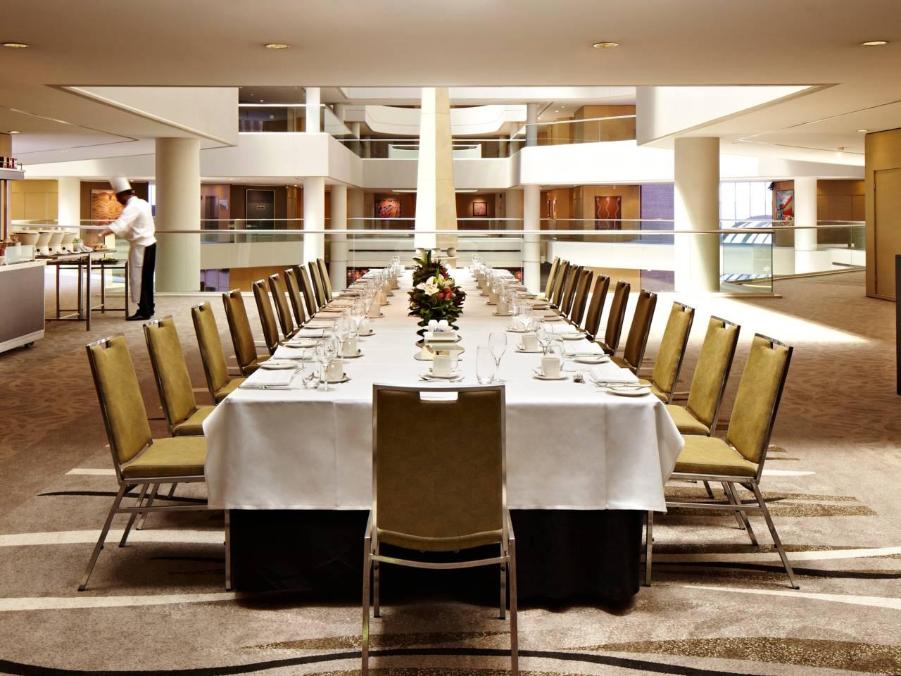 Hotel meeting space