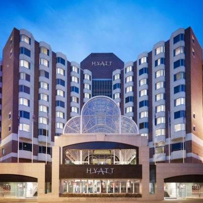Hyatt Regency Building View