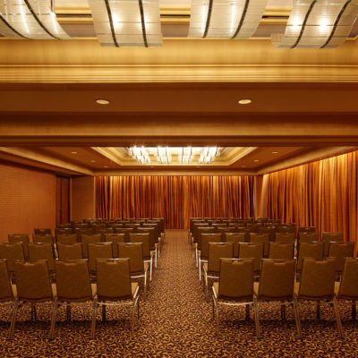 Conference Style Setup Inside The Function Room