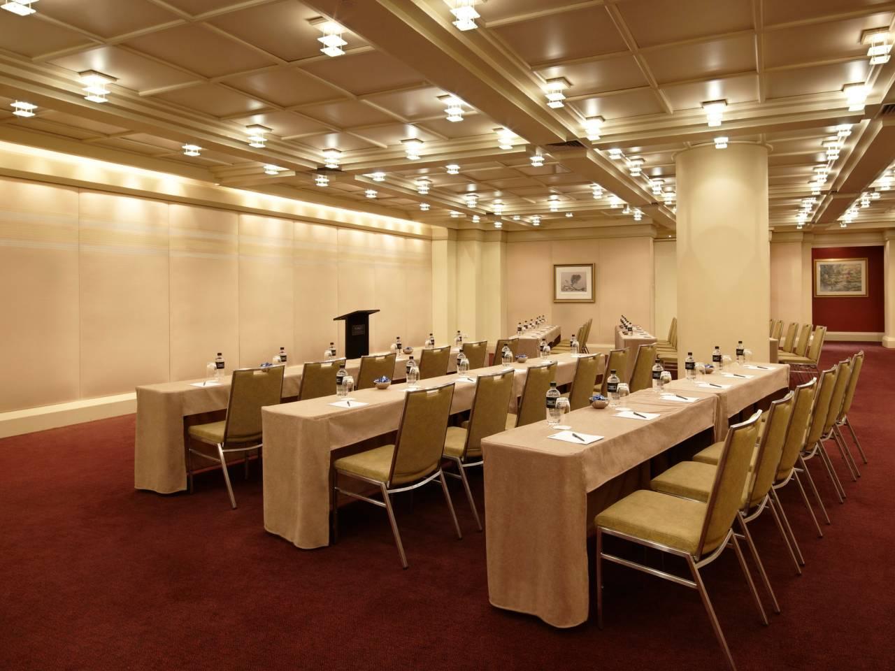 Classroom style venue