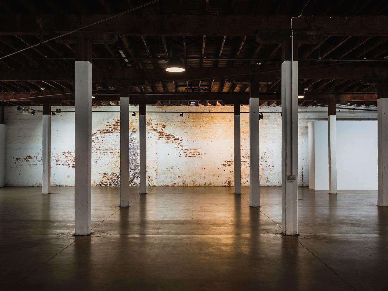 Blank Canvas Perth Venue With Dim Lighting