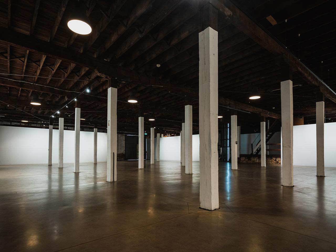 Blank Canvas Venue With Dim Lighting