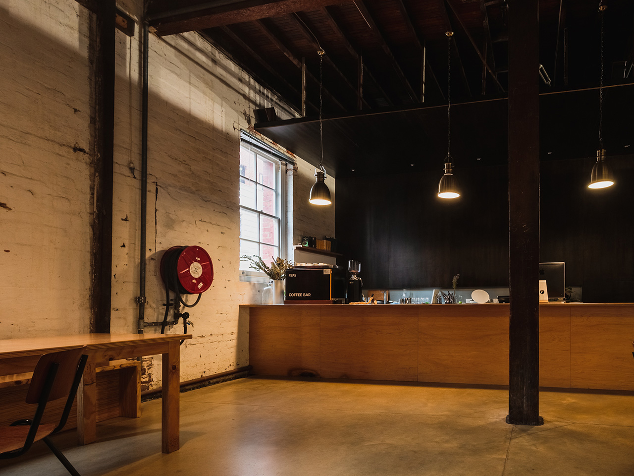 Crew Area With Coffee Machine Inside The Blank Canvas Venue