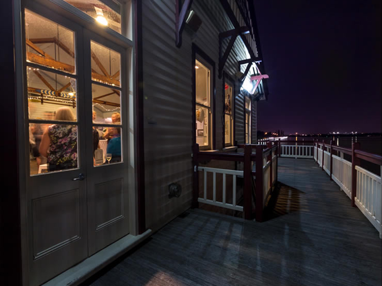 Outside Of The Function Room With Ocean View