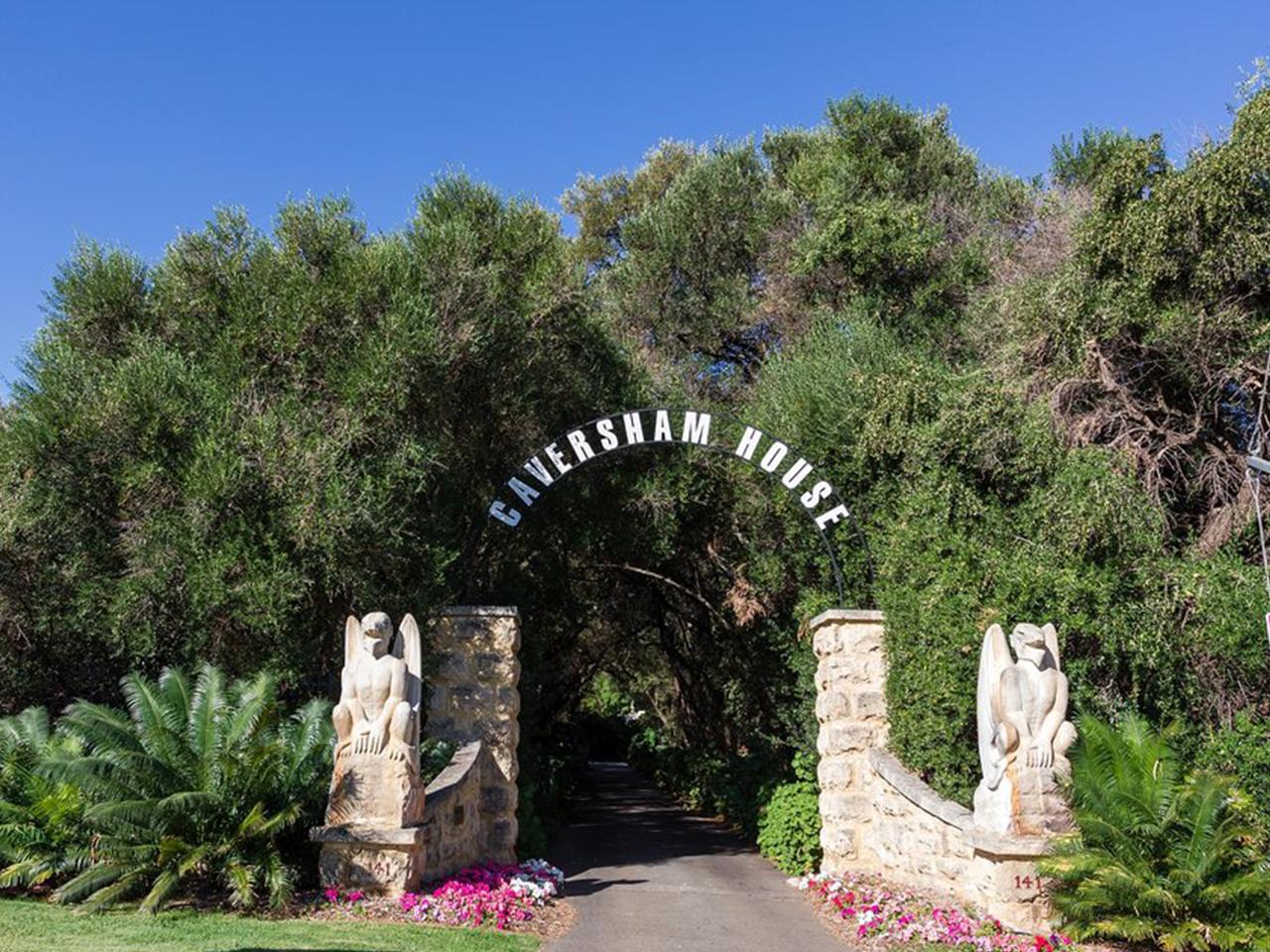 Caversham's Main Entrance
