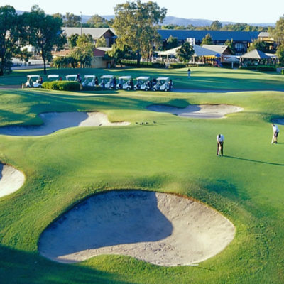 Golf Course View at Swan Valley Venue