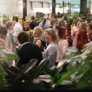 Guests Inside Unique Venue