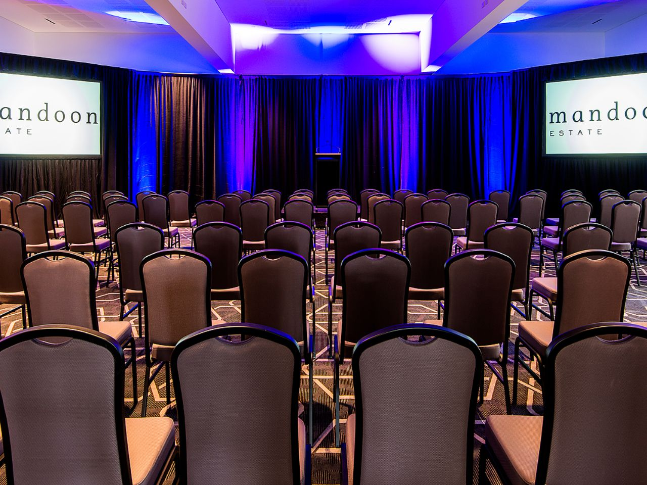 Classroom Style Corporate Event