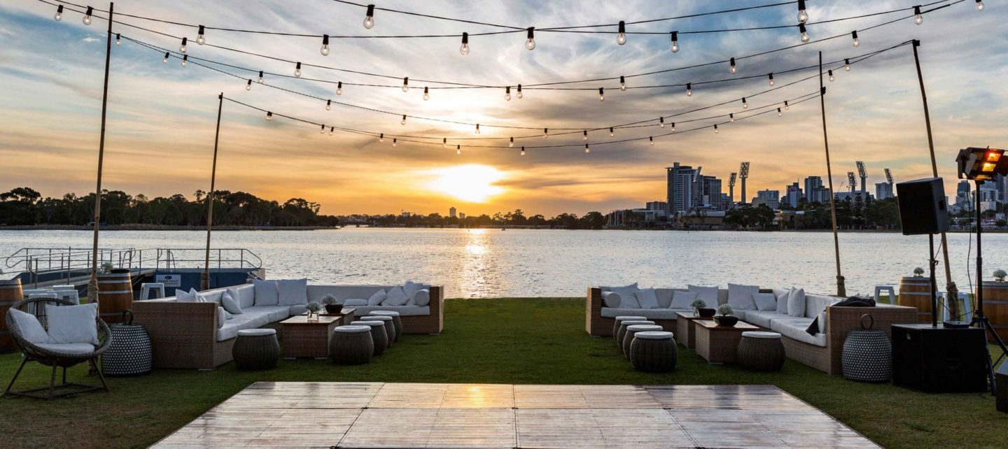 Perth riverside venue