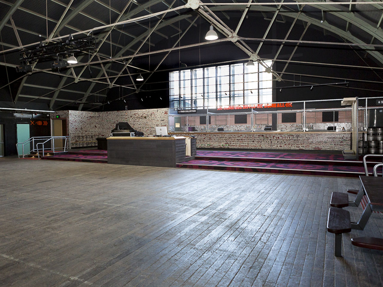 Hall Hire Freo Social Stage