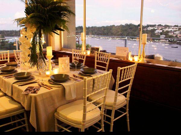 Venue with Swan River views