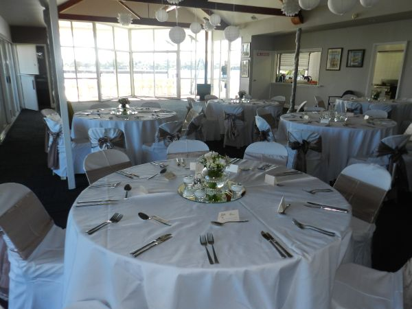 Riverside wedding venue