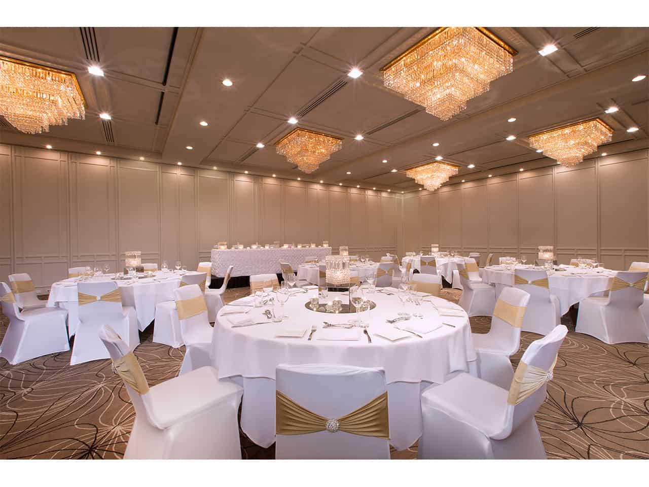 Large banquet hall