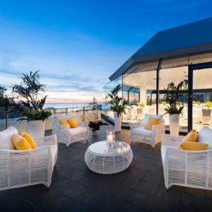 Venue with ocean views