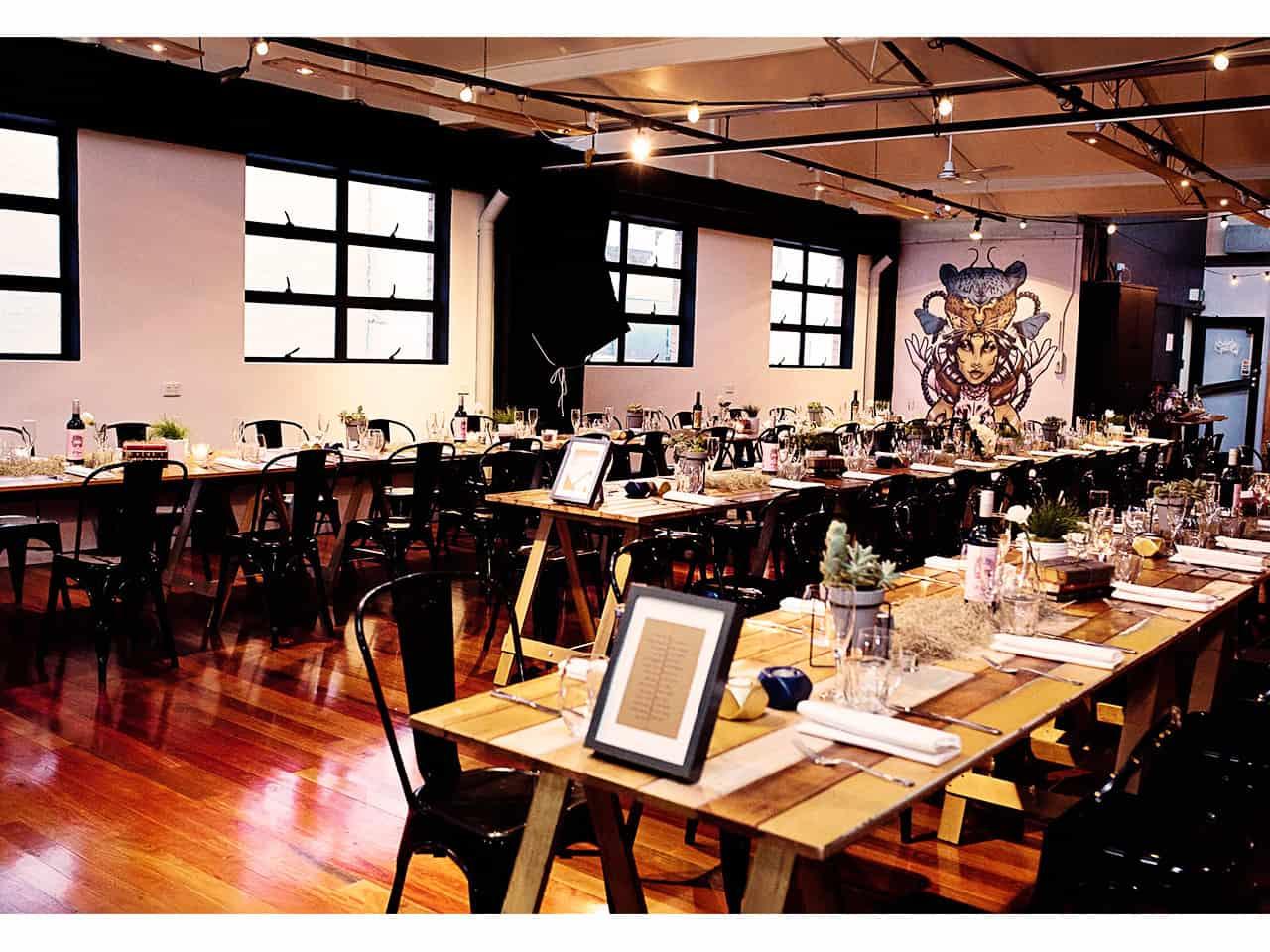blank canvas venue in Brisbane