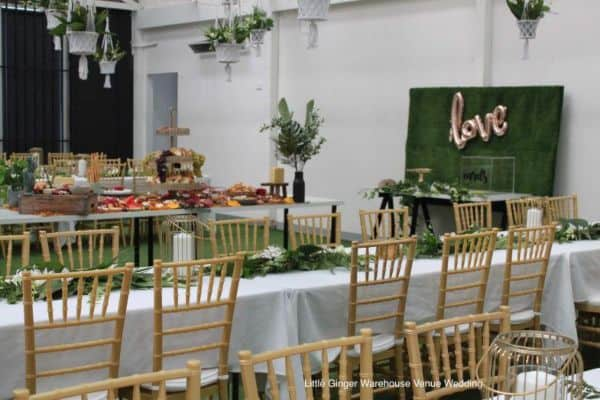Party venue hire