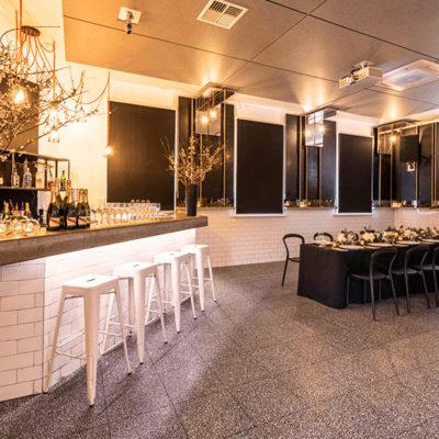 Private bar area