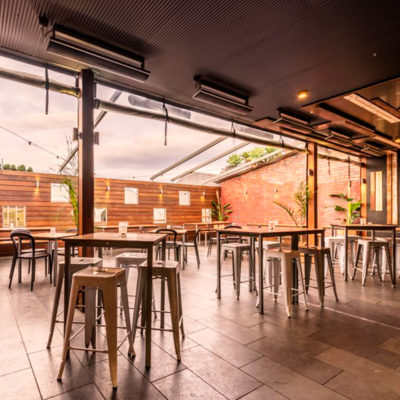 Rooftop venue hire