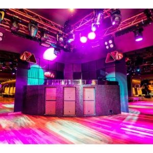 Great party venue with DJ and bar area
