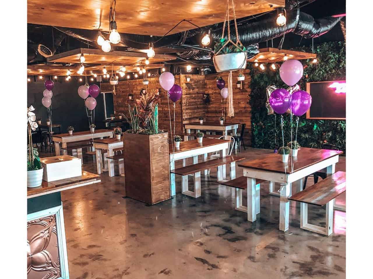 Venue with great ambience
