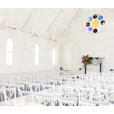 Stylish wedding venue