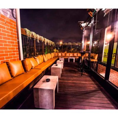 Rooftop space hire