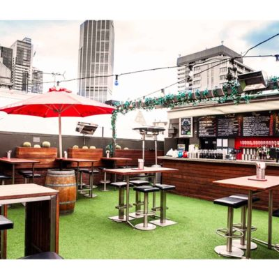 Melbourne rooftop venue